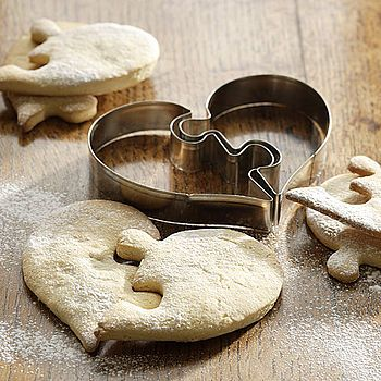 heart shaped cookie cutter by bob by post. Cute for wedding favors!