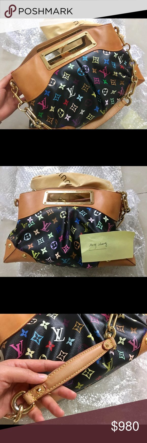 Louis Vuitton Judy MM $785 PayPal invoice and Shipped • I am selling Louis Vuitton Judy MM • Flaws are disclosed in the Photos  • Louis Vuitton has stopped making Judy Bags, so it would be quite a collection. • Come with Dust Bag • Guarantee 100% Authentic • Date Code ( this is what Judy Bag's date code looks like, I took the best I could to make it clear to see) Louis Vuitton Bags Shoulder Bags