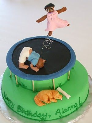 Top 20: Trampoline Cake - Cakes By Erin