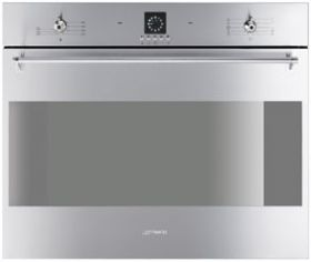 SC709XU: Oven Smeg designed in Italy, has functional characteristics of quality with a design that combines style and high technology. See it at www.smegusa.com