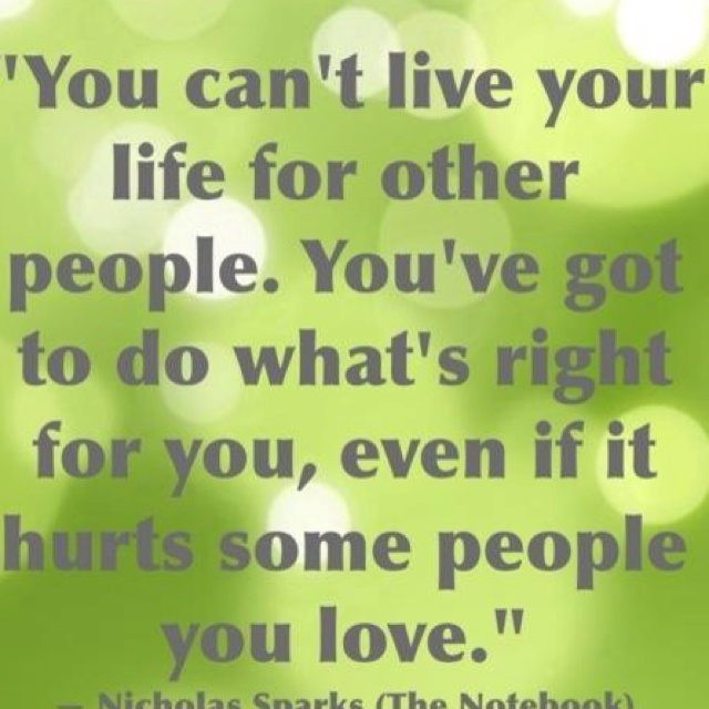Live Your Own Life Quotes: Live Your Own Life Quotes