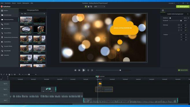 Camtasia Studio 9: Videos professionell editieren ©COMPUTER BILD