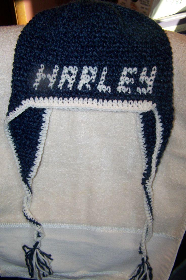 Hat Harley Patterns Davidson Crochet
