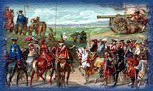 Armée française sous Louis XIV.-Fouquet surintendant des finances: les finances royales sont alors dans un état désasteux. Alors que les besoins d'argent de la couronne sont immenses, à la fois pour financer la guerre et pour les dépenses personnelles de Louis XIV, le Trésor est en banqueroute, la conjoncture fiscale est calamiteuse (les tailles ne rentrent plus) et le stock de métaux précieux disponible, insuffisant. Pour faire face, Fouquet ne s'appuie pas sur une théorie économique…