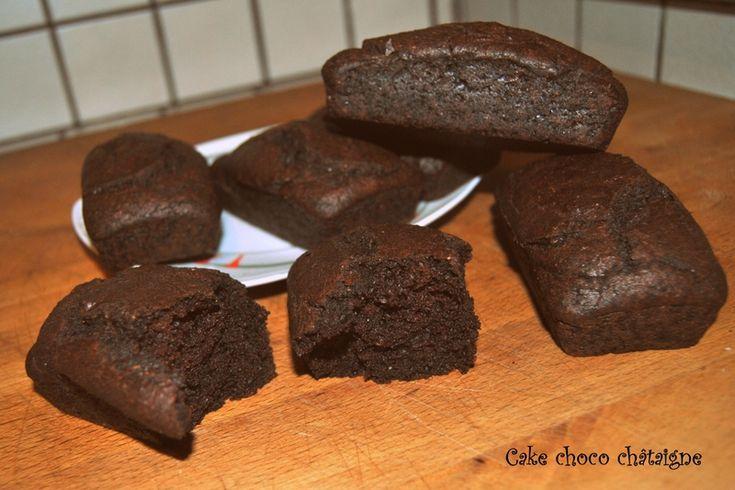 Cake choco châtaigne