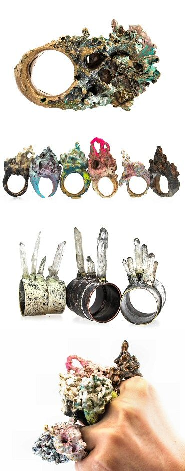 L.A.'s Catherine Homans makes some interesting things. Some of them go on your fingers May 2015 | The Carrotbox modern jewellery blog and shop — obsessed with rings
