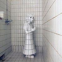 Ceramic Sculptor Kim Simonsson.  Camouflage.