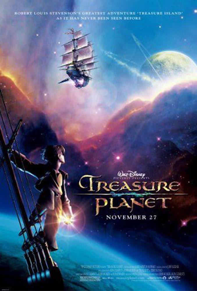 Movie Posters: Treasure Planet