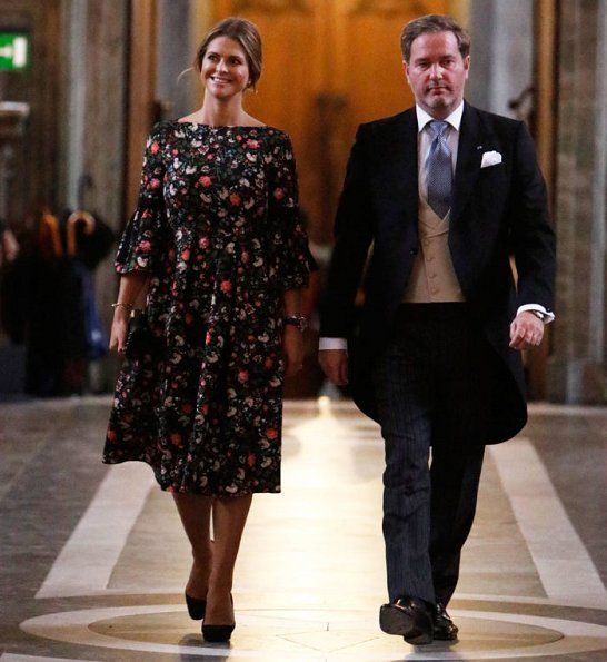 Swedish Royal Family attended Te-Deum service for Prince Gabriel Carl Walther