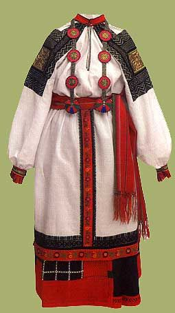 Early 19th century. Voronezh region in Russia. Wool. Flax. Gold threads. Embroidery. Weaving