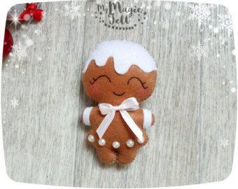 Ornamentan de ornamentos de Navidad que estrellas por MyMagicFelt