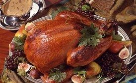Honey-Brined Turkey with Giblet Cream Gravy / Brian Leatart