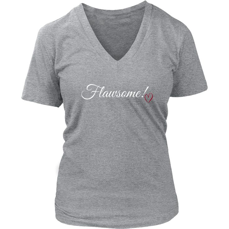 (Flawsome) District Womens V-Neck