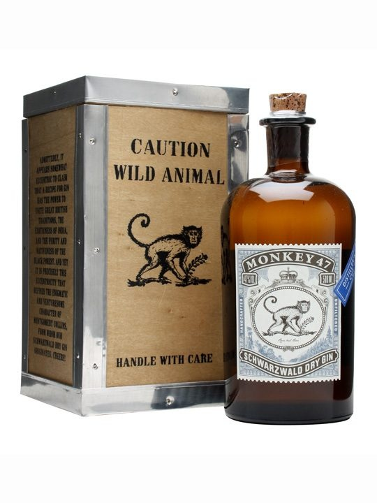 Monkey 47 Distiller's Cut Gin : Buy Online - The Whisky Exchange - A special edition of the rather unique Monkey 47 gin, made with 47 botanicals and bottled at 47%.