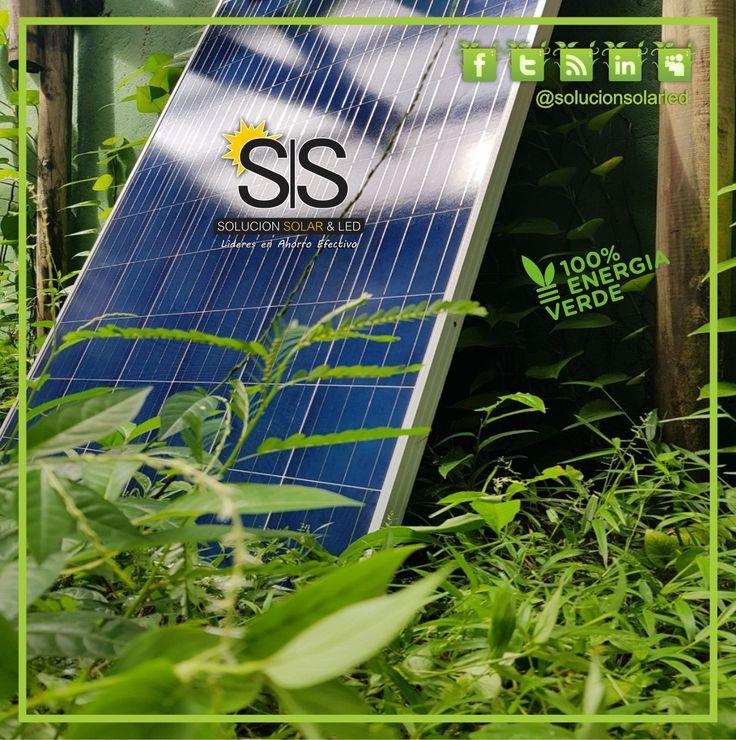 Somos pura Energía...  ¡Energía Limpia!  Somos Solución SOLAR & LED