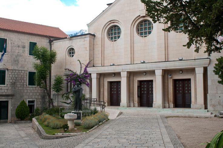 Makarska - The Franciscan Monastery of the Virgin Mary was anointed https://www.google.com/maps/d/edit?mid=18Crvl2PF73A7Uoo7-e2ASDeys2A&ll=43.29249093537511%2C17.021119943440226&z=18