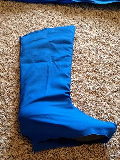 lovethehays: How to make boot covers for costumes
