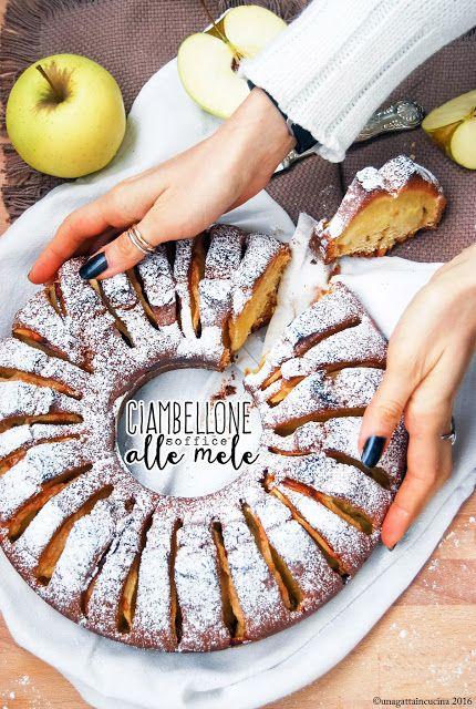 Una gatta in cucina: Ciambellone soffice alle mele | Soft apple Bundt cake