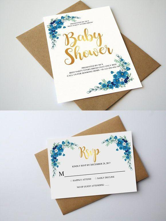 Ready to POP Baby Shower Invitation. Invitation Templates