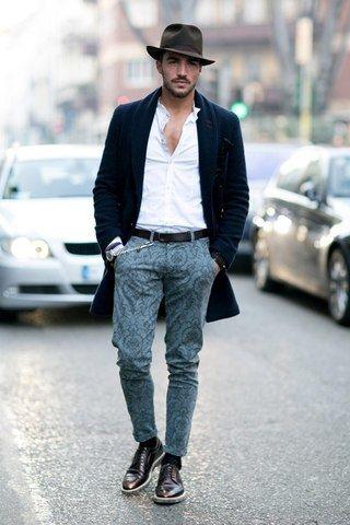 Романтический стиль в одежде мужчин
