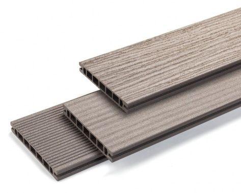 Profil deck Rehau wpc Naturo Finello  Modelele de profil deck Rehau wpc Relazzo Naturo Finello au un aspect natural de lemn care este completat de fiabilitatea materialului din care sunt concepute, rezultand un produs extrem de rezistent care nu necesita o intretinere speciala in viitor.