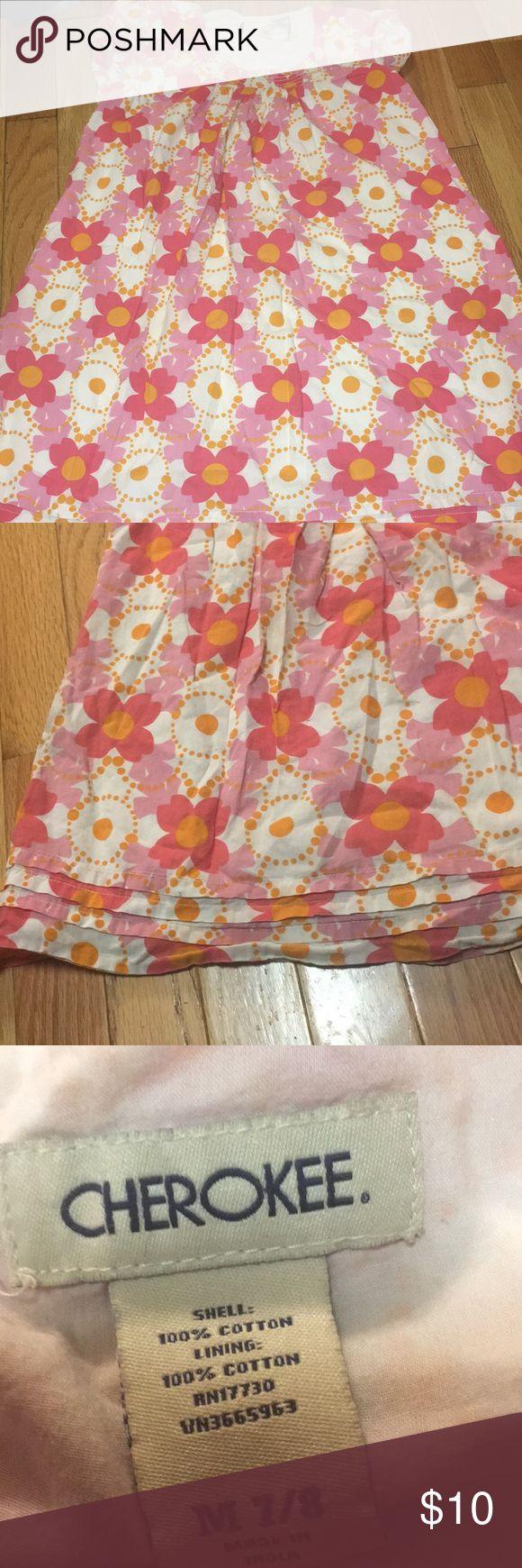 Girls dress Girls dress Cherokee brand size 7/8 some fading Dresses Casual