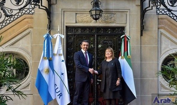 Sheikh Abdullah signs accords with Argentine minister