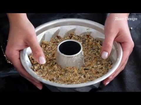 DIY voederkrans vogels | Zusa-Design - YouTube