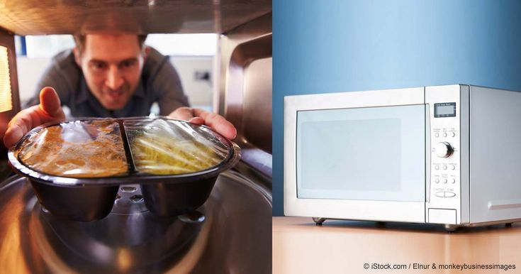 Plastic contains endocrine-disrupting and other chemicals; heating it in the microwave accelerates their transfer into your food. http://articles.mercola.com/sites/articles/archive/2015/07/22/microwave-plastic.aspx