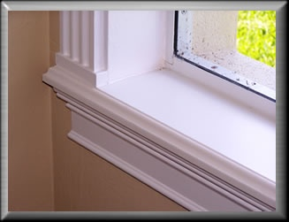 10 best images about windowsill ideas on pinterest for Interior window sill designs