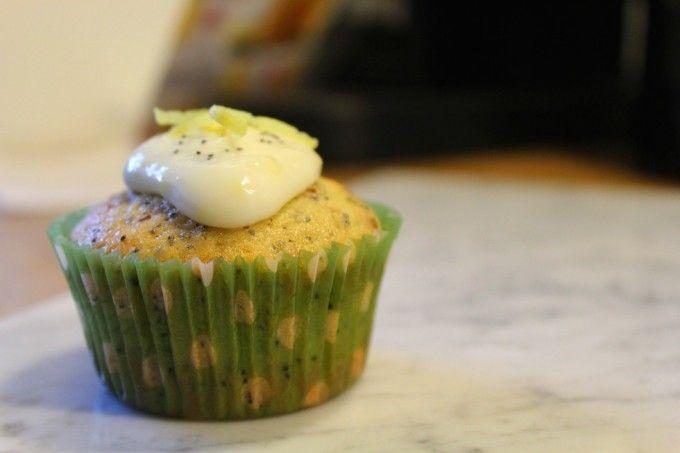 Vanilje cupcakes med citron og birkes - MereEndMad