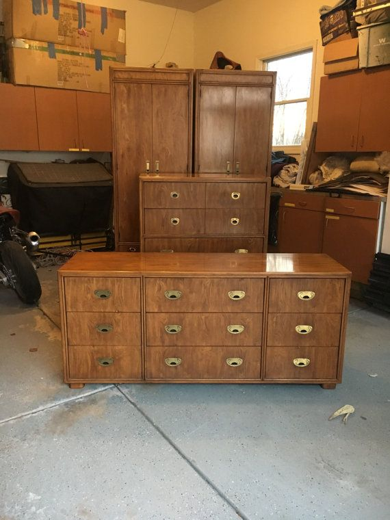 Drexel Passage Campaign Chest/ Highboy Furniture. Beautiful As Is Or Can Be  Customized For