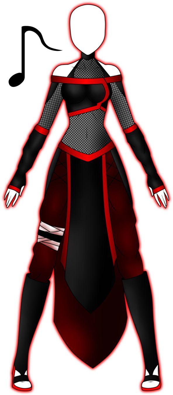 Vulkana's Naruto Outfit by 2050 on deviantART