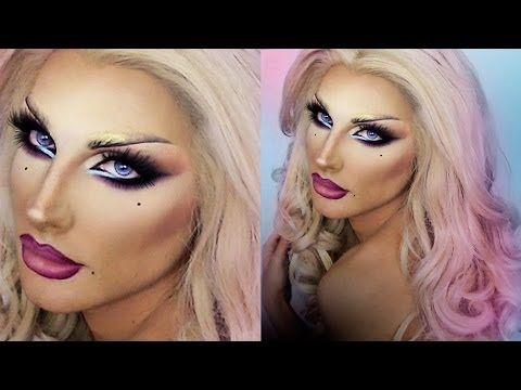DRAG QUEEN MAKE UP - Blonde Venus - YouTube