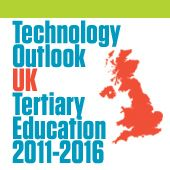 Technology Outlook > UK Tertiary Education 2011-2016 is the first report in a new series of NMC Horizon Report Regional Analyses. Co-sponsored by the JISC Innovation Support Centres (CETIS and UKOLN), this Technology Outlook explores the impact of emerging technologies on teaching, learning, research or information management in UK tertiary education over the next five years, as identified by the Horizon JISC advisory board.
