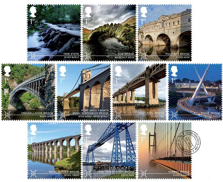 COLLECTORZPEDIA: UK Stamps Bridges