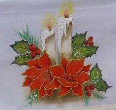 figuras de natal para pintar em tecido - Pesquisa Google