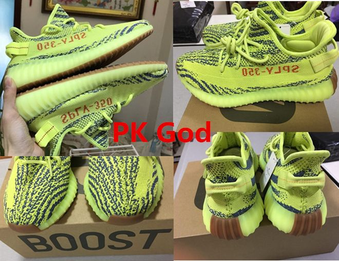 16340f3cfa4 best Adidas Yeezy 350 v2 boost SPLY Semi Frozen Yellow PK God release date  original B37572