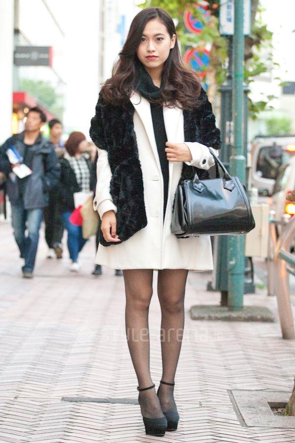 Japan Street Fashion  Winter