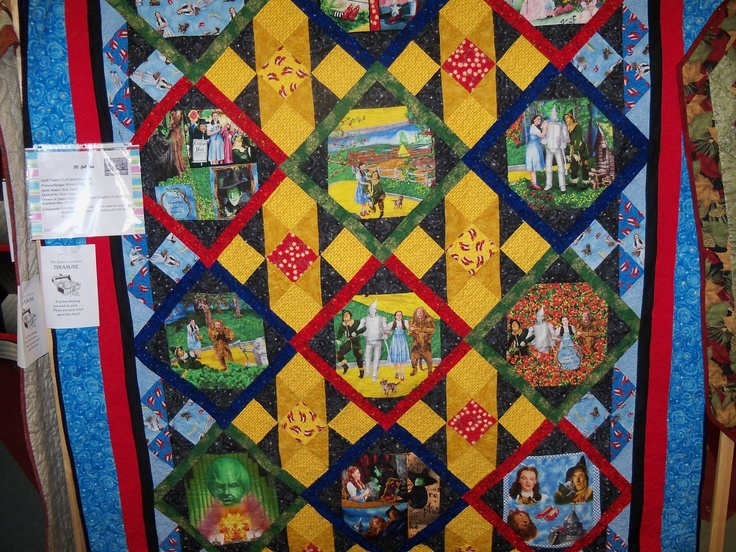 87 best OZ Quilts images on Pinterest | Appliques, Dr oz and Dress ... : wizard of oz quilt kit - Adamdwight.com