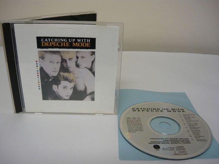 Catching Up with Depeche Mode by Depeche Mode (CD) Rock Popular New Wave Music