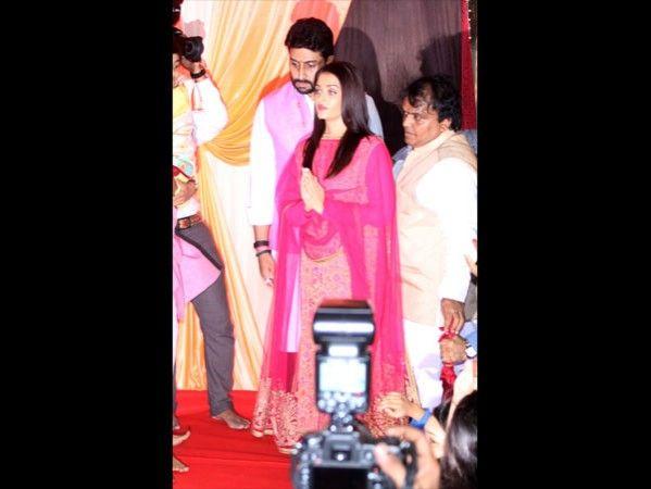 HD Photos of Aishwarya Rai & Abhishek Bachchan Ganesh Chaturthi Celebration…