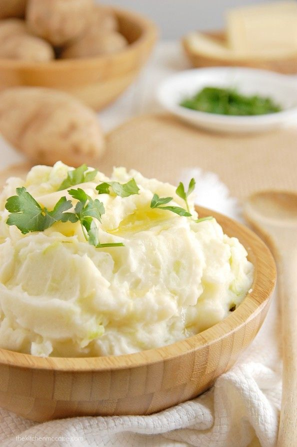 Irish Colcannon- Mashed potatoes & cabbage. Deceptively delicious ...