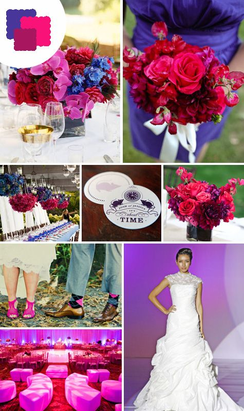 113 best perfect color combinations images on pinterest for Best wedding color combinations
