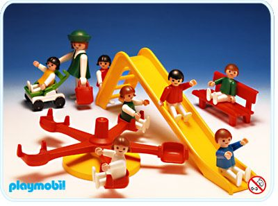 Playmobil Spielplatz. Nr. 3416. Aus dem Jahr 1981!