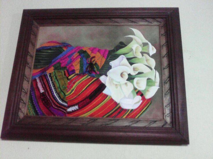 Bordado guatemalteco....Olga de Roman