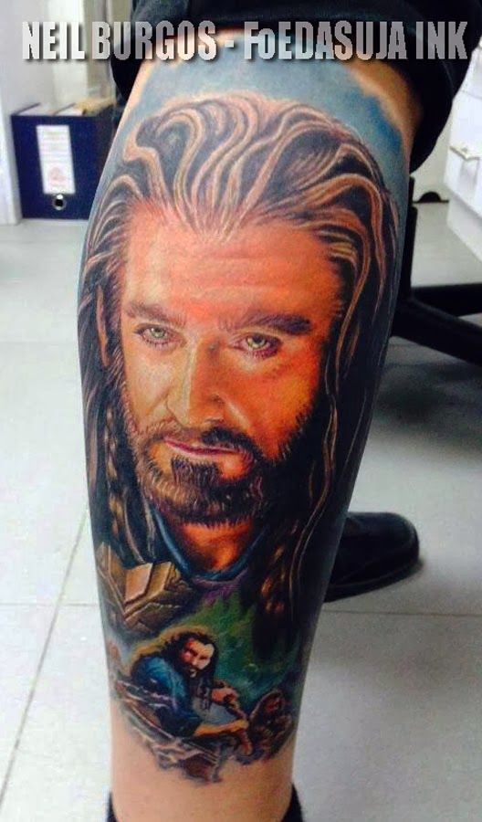 hobbit+tattoos | Hobbit Tattoo Posted by neil burgos tattoo