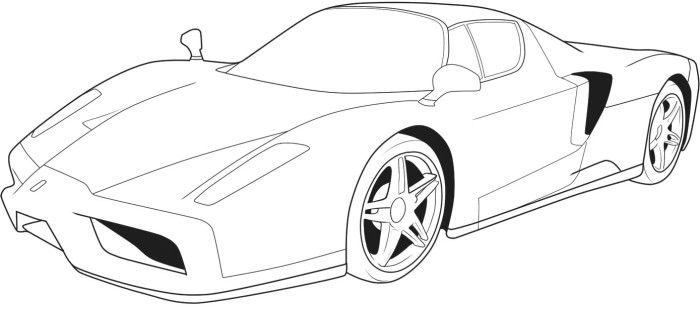 Ferarri 458 Spider Coloring Page cars Pinterest Spider