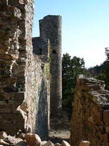 Cathar Castles - saissac Château de Saissac