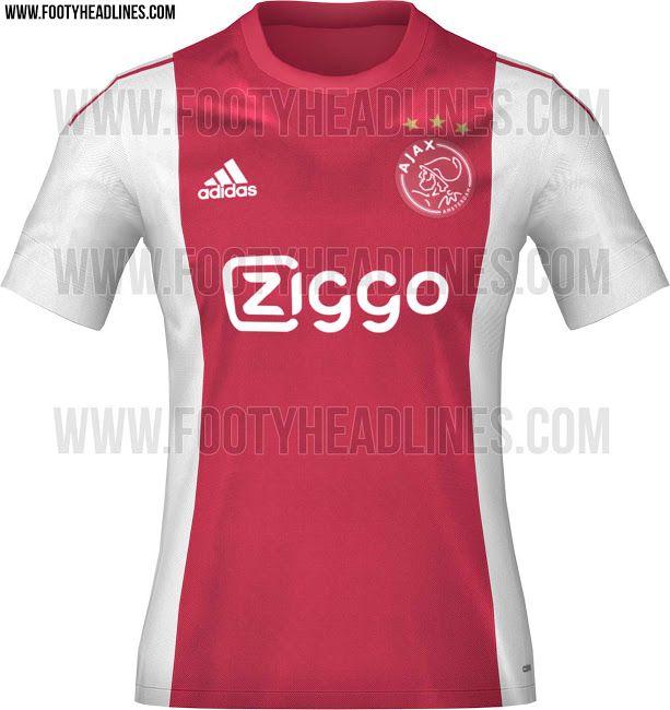 Ajax 15-16 Home and Away Kits